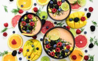 Fruta fresca Vitamina C