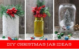 CHRISTMAS JAR CRAFT IDEAS