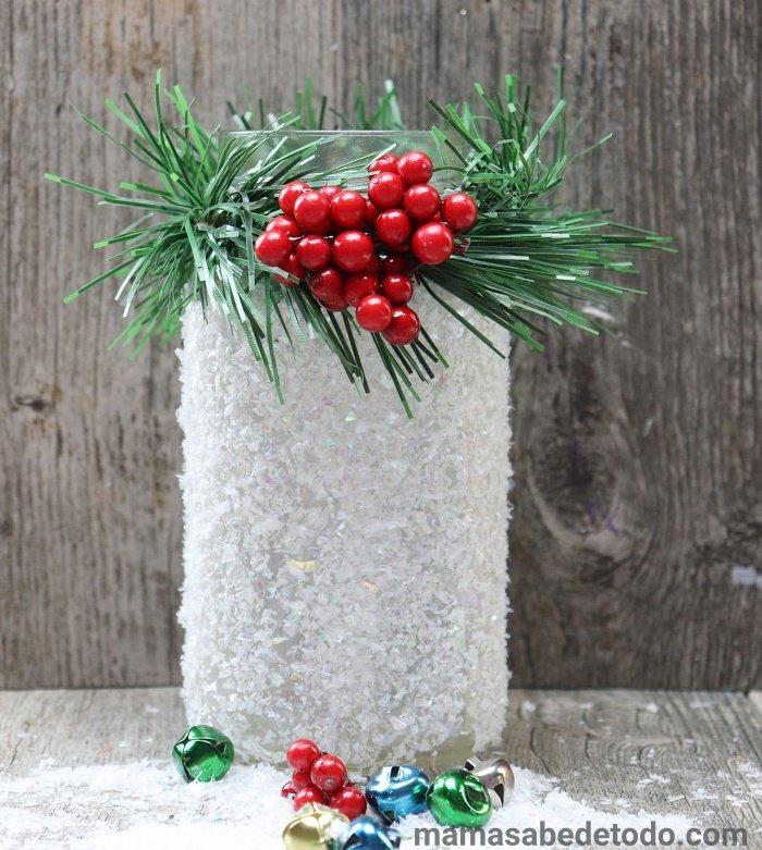 Glass Jar Christmas Crafts Ideas